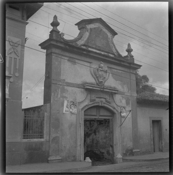Portão da Quinta do Barão de Bagé tombado pelo IPHAN