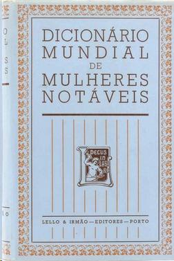 Dicionário mundial de mulheres notáveis.