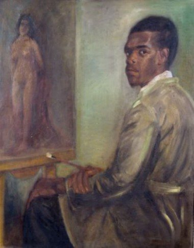 Wilson Tibério. Auto-retrato (1941).