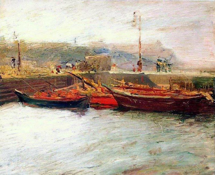João Timóteo da Costa. Barcos, s.d.