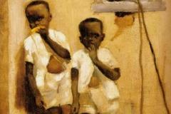 Emmanuel Zamor (1840-1917). Crianças Negras.
