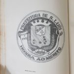 Medalha de Honra ao Mérito instituída pela Prefeitura de São Luís (desenho criado por Antônio de Jesus Garcês, 11/10/1975).