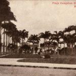 Fotogravura (1910). Praça Gonçalves Dias (São Luís). Anônima. Fonte: Instituto Moreira Salles Fotografia, Coleção Cidades Brasileiras (postais).