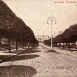 Fotogravura (1910). Avenida Maranhense (atual Pedro II). Anônima. Fonte: Instituto Moreira Salles Fotografia, Coleção Cidades Brasileiras (postais).