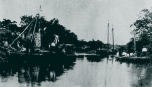 Foto (1906). Porto do Anil. Fonte: Revista do Norte, via: Blog Iba Mendes: Fotos antigas de cidades do Maranhão.