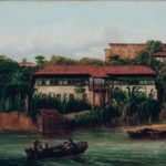 Óleo sobre tela (1862). Righini, Giuseppe Leone, 1820-1884. Maranhão - São Luís Fonte: Brasiliana Iconográfica.