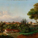 Óleo sobre tela (1865). Righini, Giuseppe Leone, 1820-1884. Maranhão - São Luís Fonte: Brasiliana Iconográfica.
