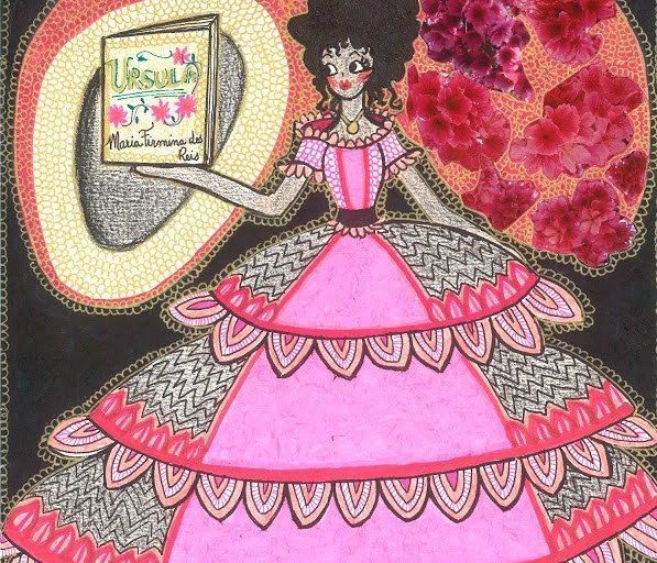 (Ilustração) Úrsula - Maria Firmina - Fonte: O Feminino e o Sagrado - Heroínas do Brasil