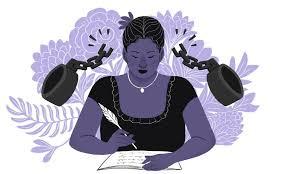 Ilustração de Maria Firmina, Nila Millen, 2019.